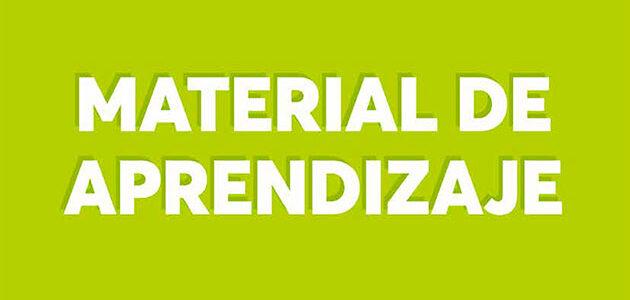 MATERIAL DE APRENDIZAJE